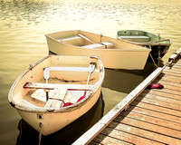 Rowboats in a Row