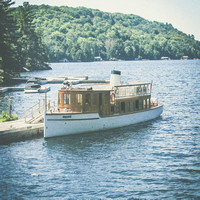 Bigwin Island Ferry, Lake of Bays, Ontario, Canada